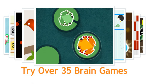 web games online brain training