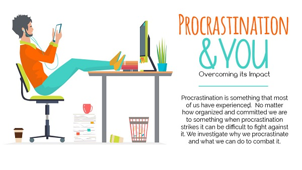 the issue of procrastination in students Procrastinate consistently, which leads to problems with assignments or other set  tasks  a common form of procrastination is for students to delay starting an.